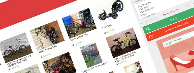 BikeFinder – Graphical Used Bike Search
