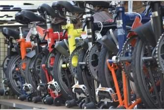 11 Brompton bicycles recovered in London