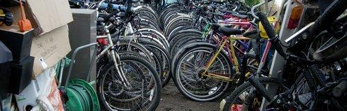 Huge Haul of 100 Stolen Bikes Recovered