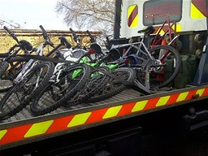 17 Bikes Recovered in Northampton