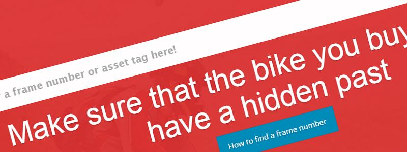 Check That Bike! Campaign FAQ
