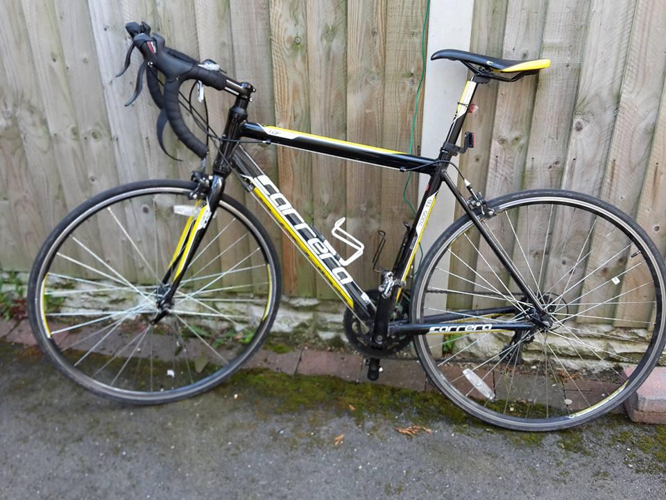 Stolen Carrera TDF road bike