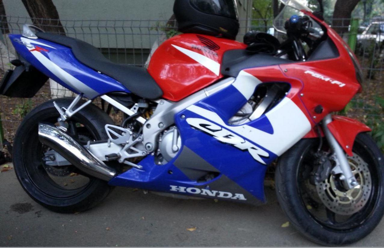 Honda 600 F4i >> Stolen Honda CBR 600 F4i