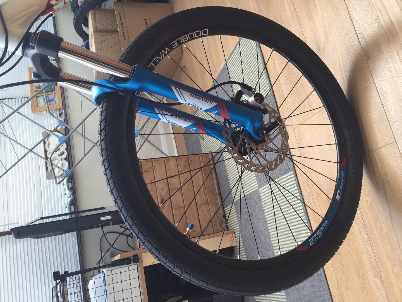 Stolen Carrera Bicycles 2015 Kraken