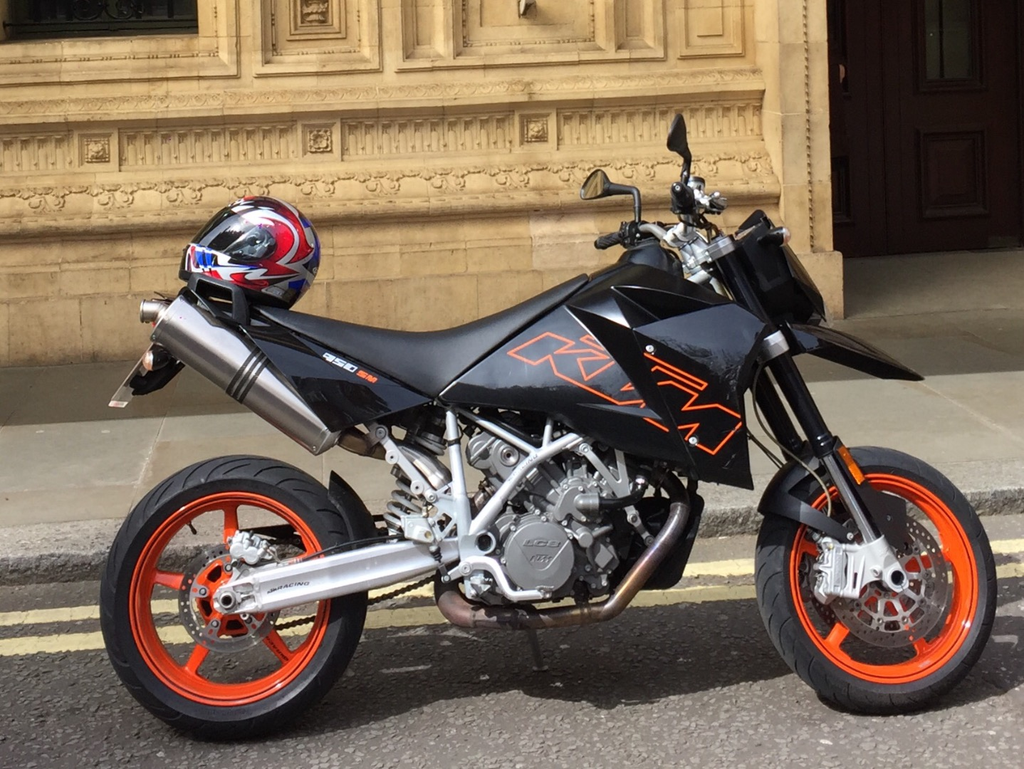 stolen ktm 950 sm supermoto. Black Bedroom Furniture Sets. Home Design Ideas