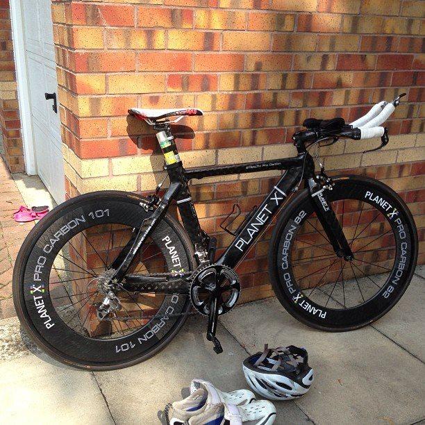 Stolen Planet X Stealth Carbon Time Trial Bike
