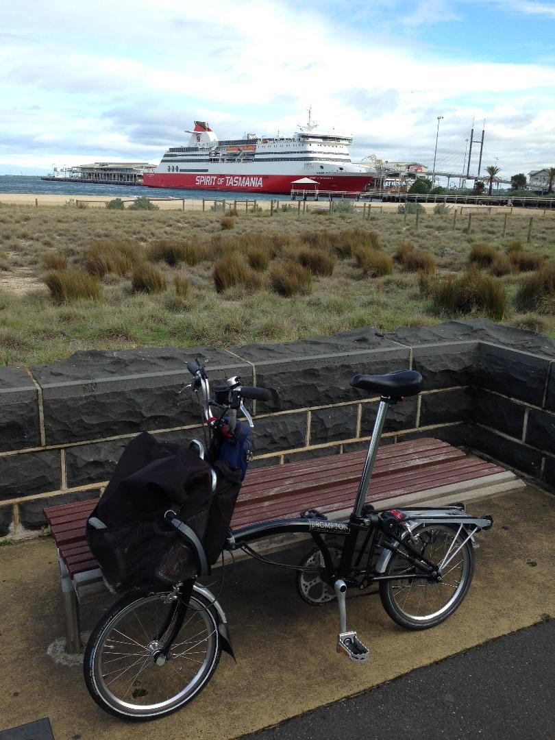 Stolen Brompton Bicycle T3