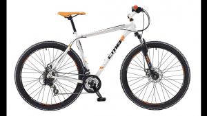 shimano with KTM orange stickers mountain bike