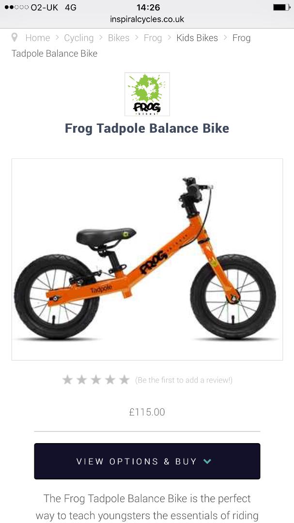 Stolen Frog Tadpole