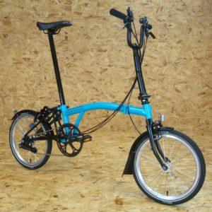 Brompton Bicycle M6L Black edition