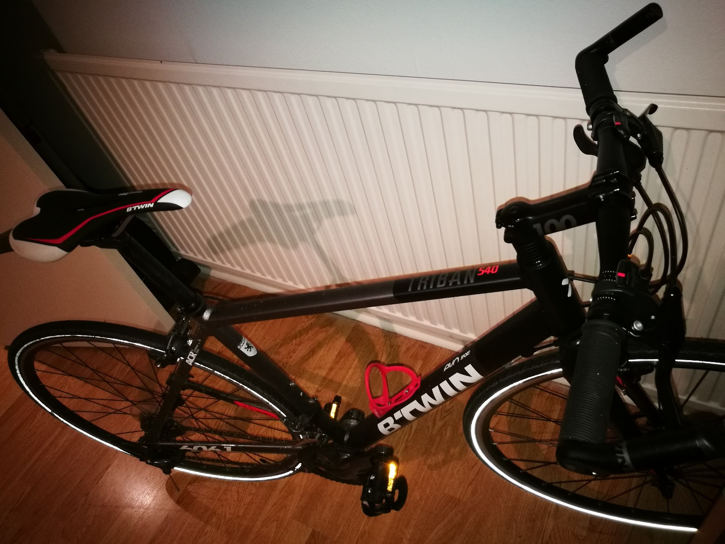 Stolen Btwin Triban 540 flat bar