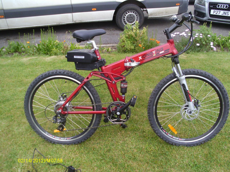 Stolen Xiongying Modern Folding E Bike