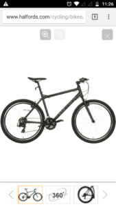 Carrera bicycles parva