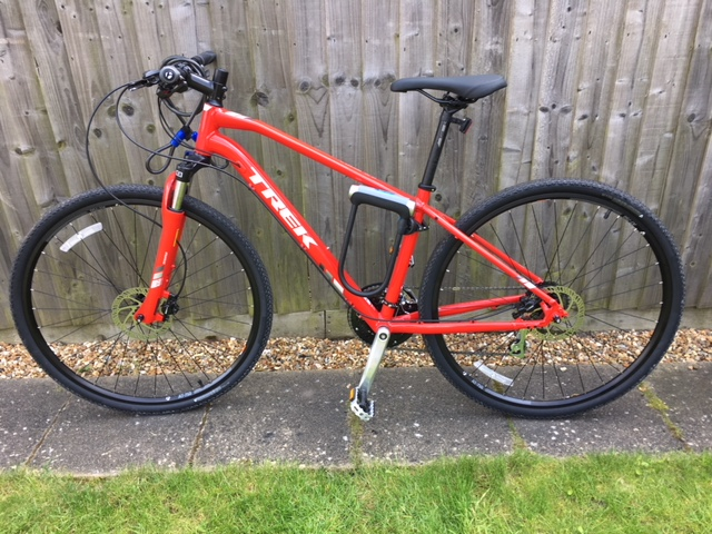 Smart Bike Lock >> Stolen Trek DS 2 2018 Hybrid Bike