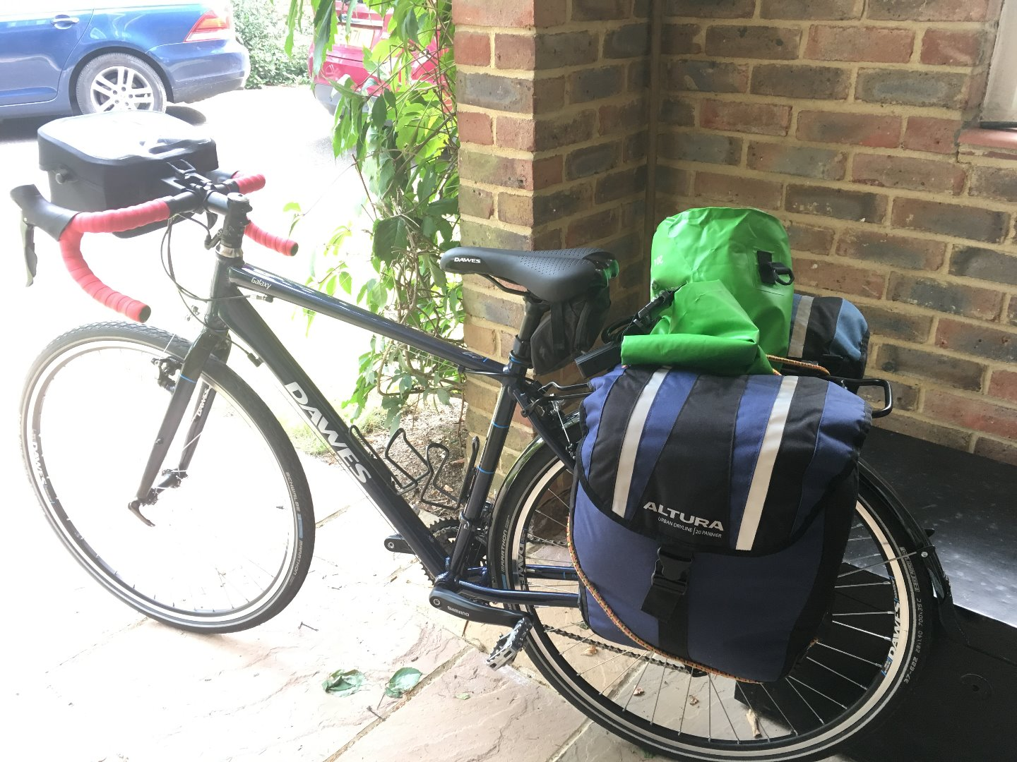 Stolen Dawes Cycles Galaxy Touring Bike 18