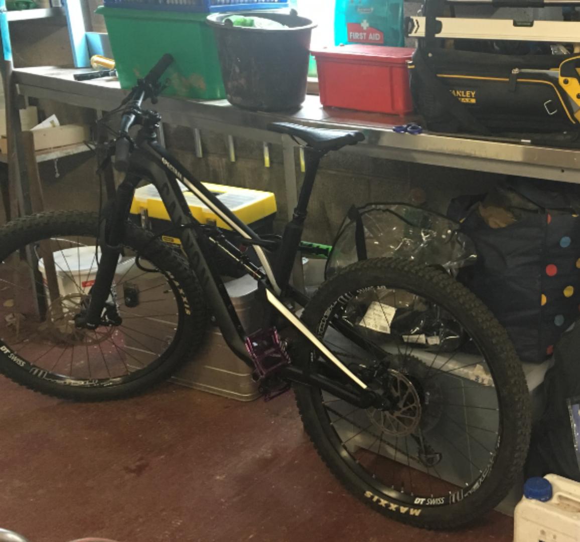 Stolen MTB - bicycles CANYON Spectral AL 6 0 - 2018