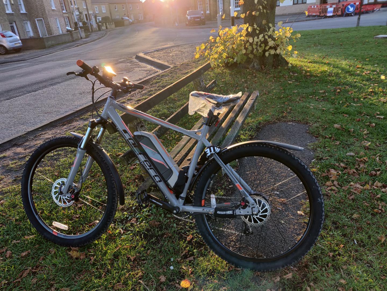 Stolen Carrera Bicycles Vulcan Ebike