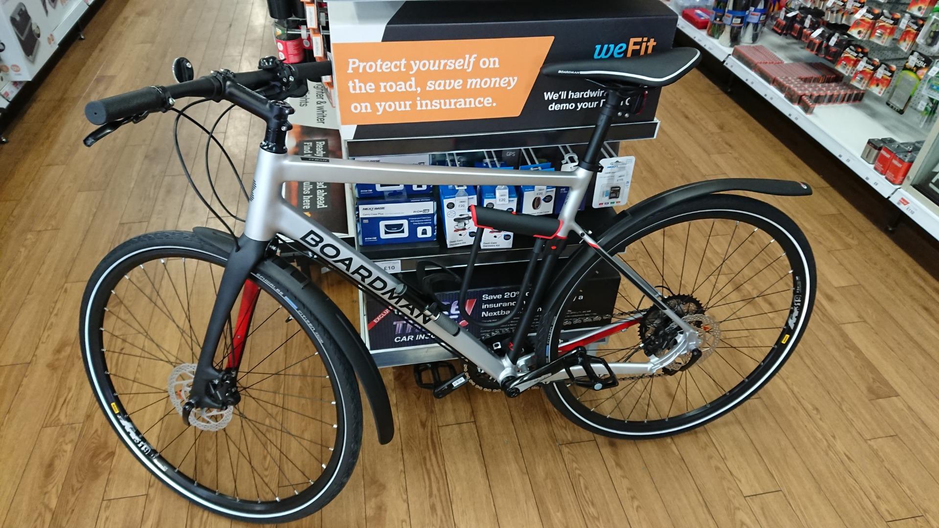 Stolen Boardman Bikes Hybrid 8 8 L