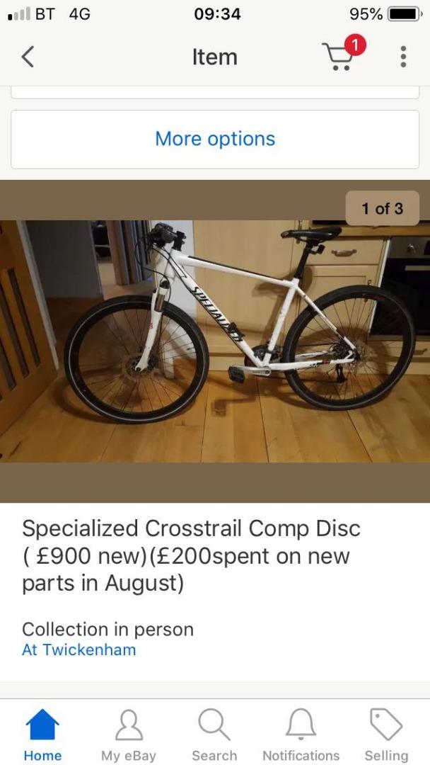 Stolen Specialized Crosstrail