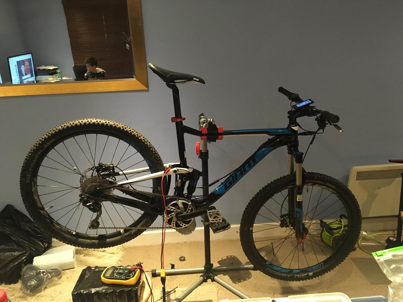 Stolen Giant Anthem 3 Electric Bike