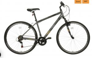 Apollo Guru Mens Hybrid Bike – 18″ Apollo Guru Mens Hybrid Bike – 18″