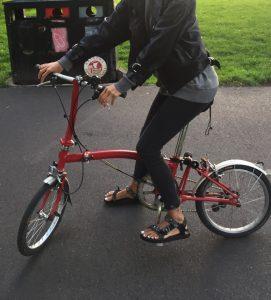 Brompton Bicycle Flat handle bar